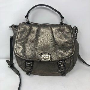 Coach Madison Annabelle metallic Crossbody bag